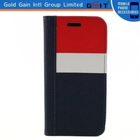 Genuine Leather Flip Case for iPhone 6, for iPhone 6 Flip Case High Quality