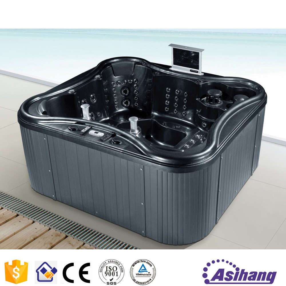 foshan outdoor cheap cast iron black whirlpool bathtub buy black whirlpool bathtub outdoor. Black Bedroom Furniture Sets. Home Design Ideas