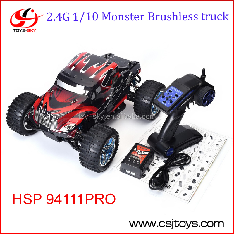 HSP 94111P <strong>1</strong>/<strong>10</strong> 4wd Brushless Off Road Monster