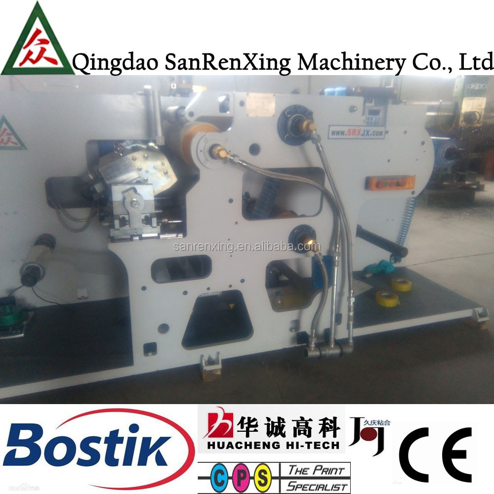 SR-A80 non scratch hot melt adhesive roller coating machine