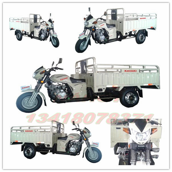 Guangzhou KAVAKI factory Production MAX LOADING 1.3m*2.2m three wheel motorcycle