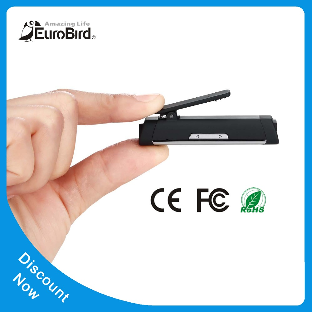 New Arrival Built-in Rechargeable Battery bullet shaped bluetooth earphone