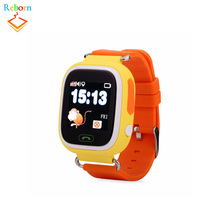 OEM GPS Q90 Smart baby Watch with Touch WIFI Location SOS Call pedometer Tracker / kids watch / elderly watch gps