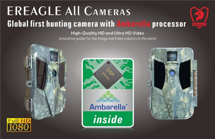 1080P 12MP CMOS Sensor Infrared Whitetail Deer Surveillance Track Hunting Camera with Night Shooting