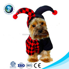 Halloween Pet Apparel Clown One Piece Costume For Christmas Plush Pet Clothes Dog Cat Clothing