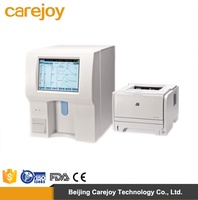 "Popular medical lab equipment 8.4"" color TFT full auto hematology analyzer with interface&high speed 3 part diff"