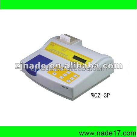 Nade Lab Water Testing Equipment WGZ-3A/3AP Economic Portable Turbidimeter