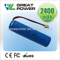 IEC62133 standard 18650 lithium ion battery cell
