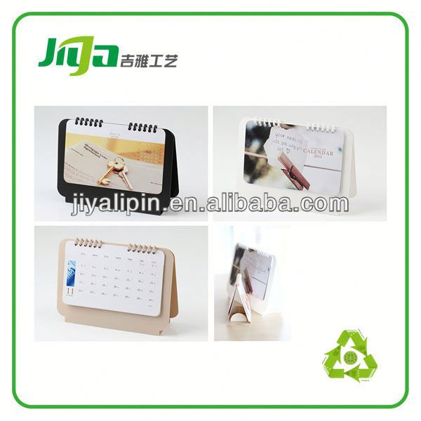 OEM calendars plastic covers for promotion in China