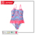 Kids swimwear girls one-piece swimsuit floral printing