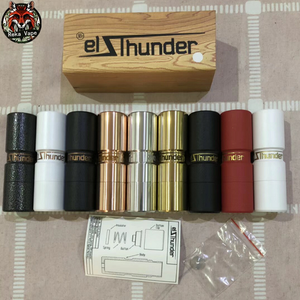 Popular and best design SS/Cooper/Brass material elthunder 18650 mech mod