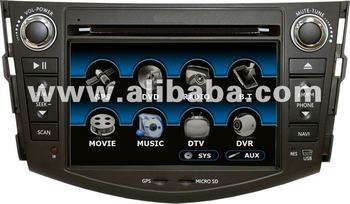 TOYOTA RAV4 CAR DVD PLAYER HEADUNIT