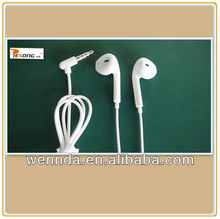 High quality earphone for mobile phone free sample