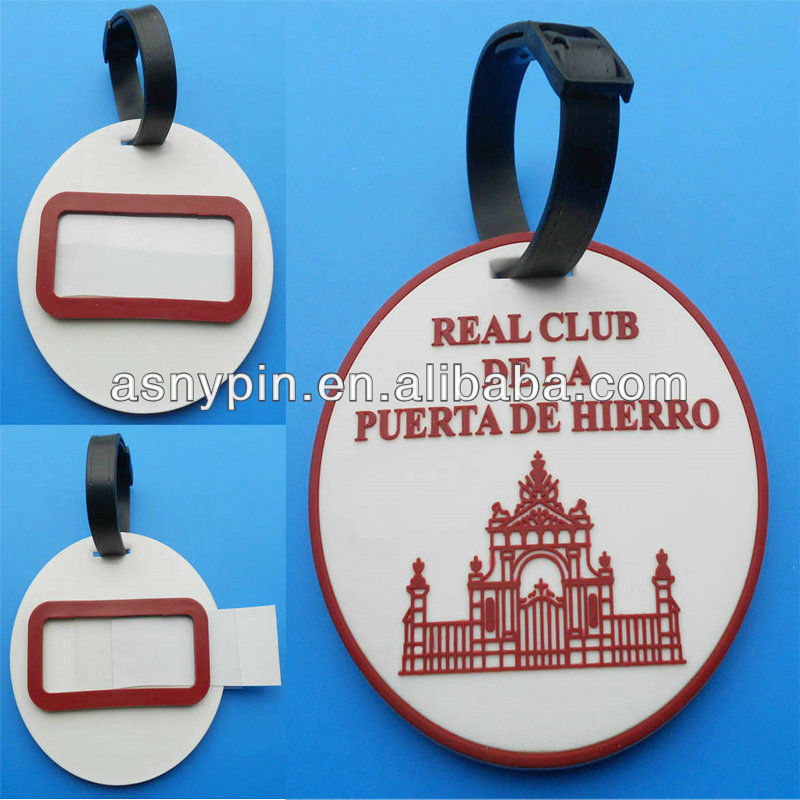 round shape souvenir travel bag tags wayfarer bag tags