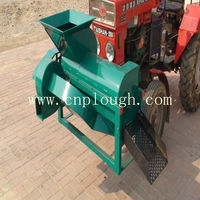 corn harvester thresher machine