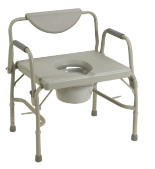 Simple Hospital Bed Side View Plastic Commode Chair With Bedpan Decorating Ideas