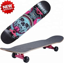 2019 hot sale high quality and Most Popular canadian maple skateboard, factory offer client custom skate board