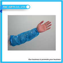 Wholesale Different Colors Disposable Plastic Waterproof Arm Sleeve For Cleanning plastic arm sleeve