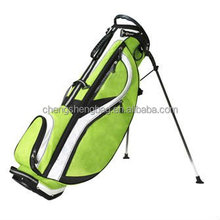 Green Customized Golf Stand Bags
