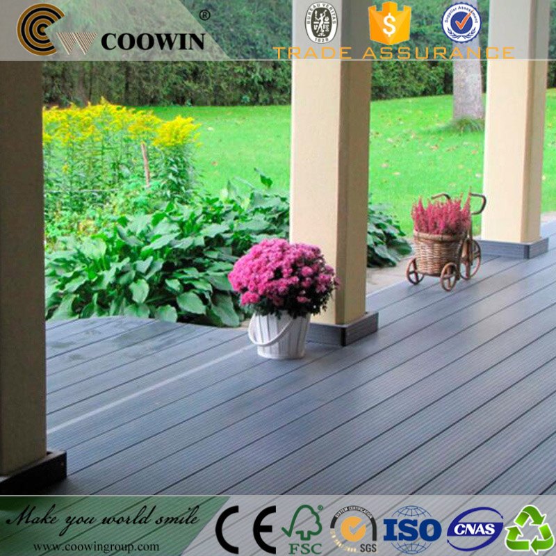 Durable anti-crack wpc decking composite material