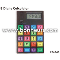 New Novelty Toy Electronic Digit Desktop 8 Digital Calculator
