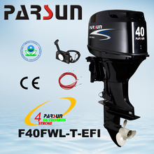 F40FWL-T-EFI 40HP electric fuel injection with long shaft outboard