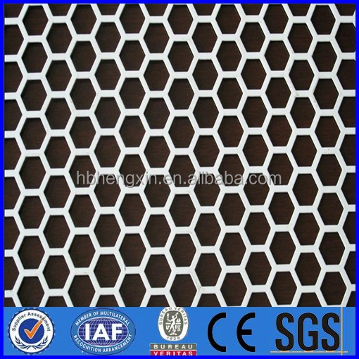 dust suppression and wind proofing wall flexible perforated metal