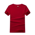 New arrival 90% cotton 10% polyester blank color custom logo unisex t shirts for kids