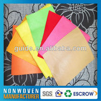 Colorful polyester needle punched felt