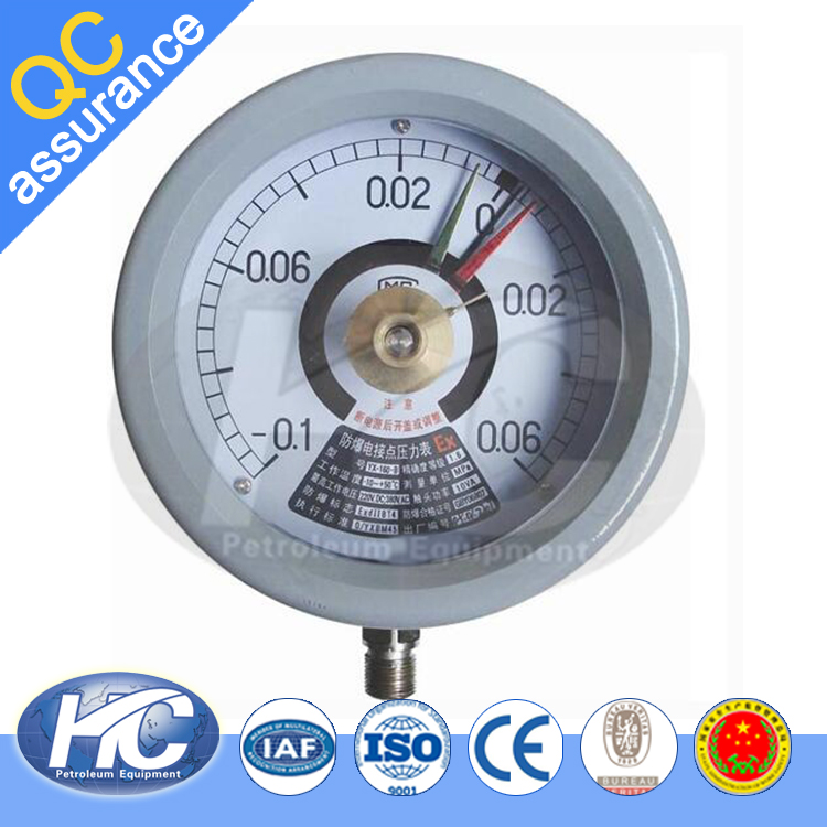Oil filled pressure gauge / digital pressure gauge / bourdon tube pressure gauge on sale