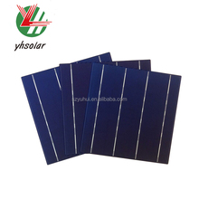 YUhui solar cell Polycrystalline 156mm *156mm with 4BB. Solar cel sale with a low price.