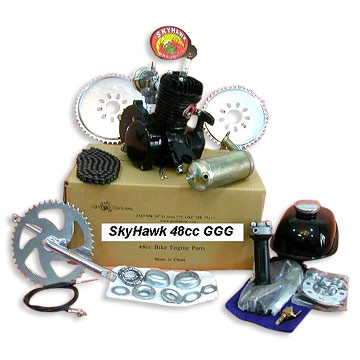 2 stroke Gas engine kit for bicycle