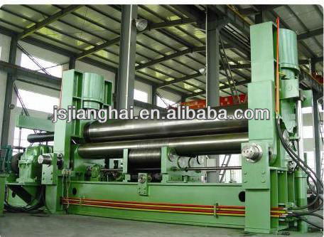 <strong>W11S</strong> Hydraulic Upper Roller Universal Rolling Machine/Large scale plater rolling machine/