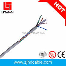 fire resistant cat5e/cat6/cat6a/cat7 cable copper conductor