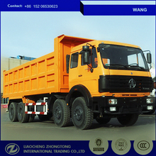Beiben 8*4 big dump truck for sands/dirts/coals and other heavy duty for rough roads