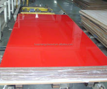 18mm High gloss uv mdf sheet for kitchen cabinet