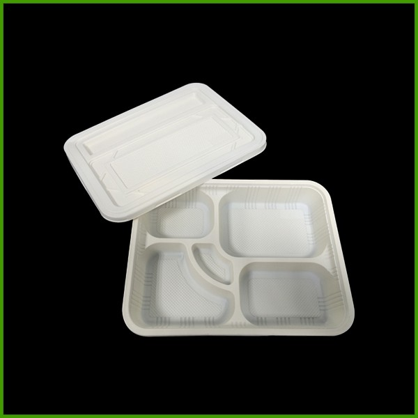 Custom recycle biodegradable food packaging plastic disposable Meat tray disposable