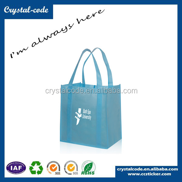 Pictures printing non woven folding shopping bag nylon foldable shopping bag