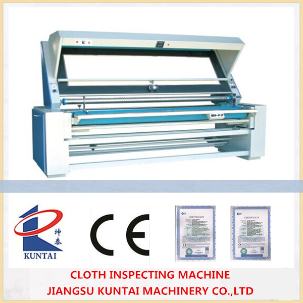 High quality Cloth and Fabric Inspecting Machine and Rolling Machine
