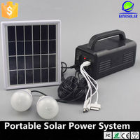high quality small home solar lighting system for indoor