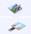 Slim Credit Card Flash Memory USB 32GB Flash Drive with Full Color Logo Printing On 2 Sides
