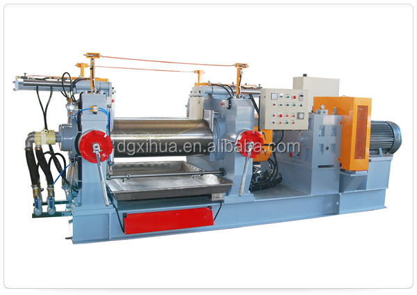 XH-360 two roll open rubber mixing mill/open mixing mill machine