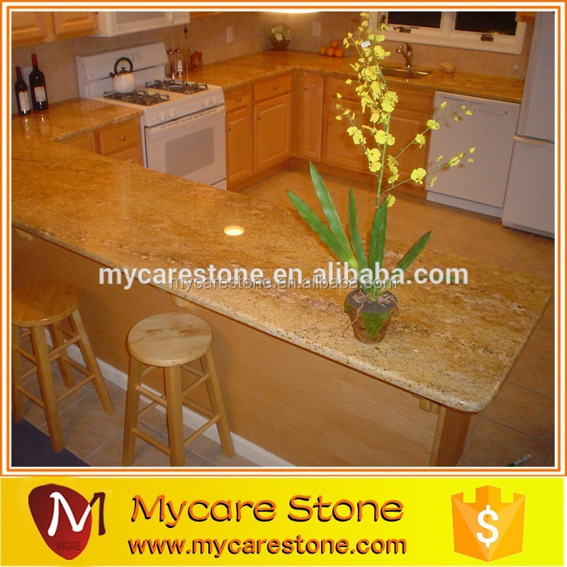 Top quality low price cheap imperial gold countertop