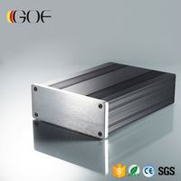 145*54-140(w*h-l)Custom audio rf transmitter chassis aluminum enclosure box shell case