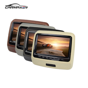 full HD 1080p touch screen active dvd player 9 inch hd touch screen headrest monitors