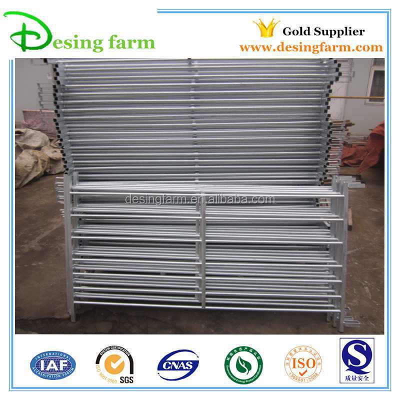 galvanized sheep corral fence panels
