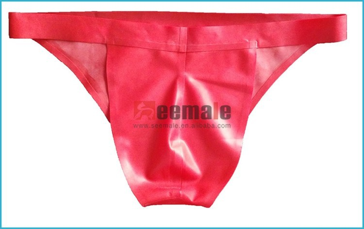 100% Latex Rubber Underwear For Men Latex Free Elastic Underwear Sexy