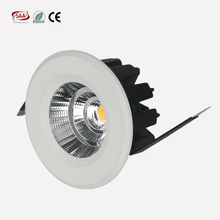 flexible Jewelry lighting 60mm cutout 7w led cob recessed downlights