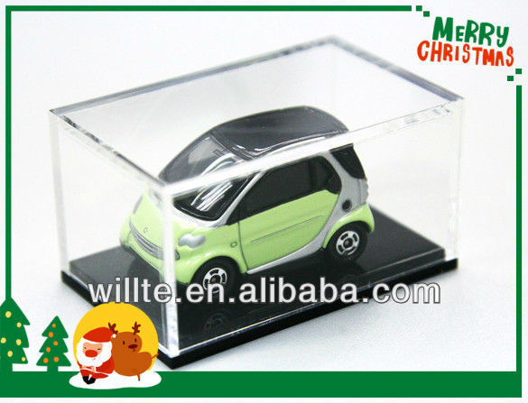 Wholesale gift acrylic toy car display case