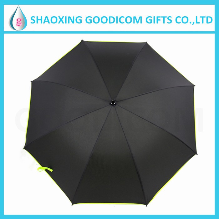 Double layer golf umbrellas auto open straight golf umbrella